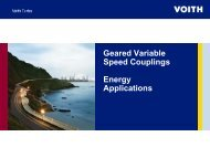 Geared Variable Speed Couplings Energy Applications