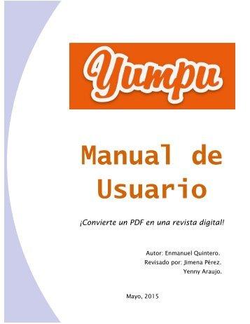 Manual de Usuario de Yumpu