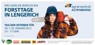 FORSTTAGE IN LENGERICH - Agrartechnik Altenberge