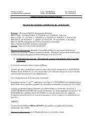 conseil communal 30 juin 2011 - Saint-Georges-sur-Meuse
