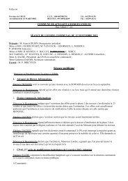 PV Conseil Communal 12 novembre 2012 - Saint-Georges-sur-Meuse