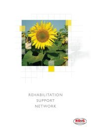 REHABILITATION SUPPORT NETWORK - Med-El