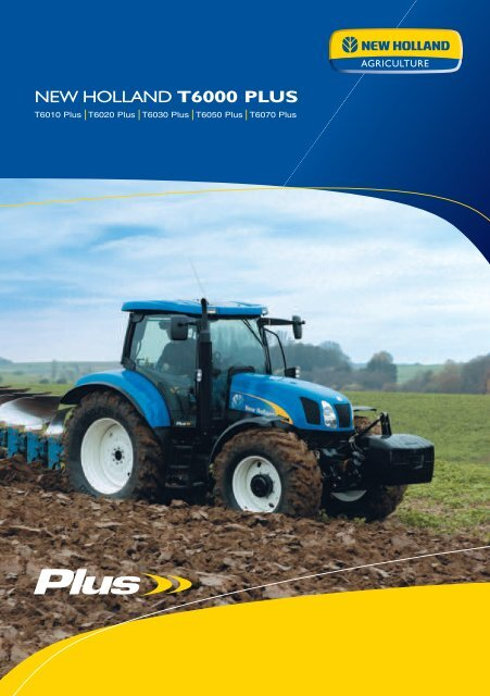 NEW HOLLAND T6000 PLUS - Agrartechnik Altenberge GmbH