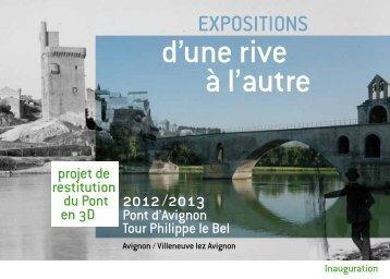 d'une rive à l'autre - Le pont d'Avignon