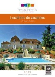 Locations de vacances - Pays de Bergerac
