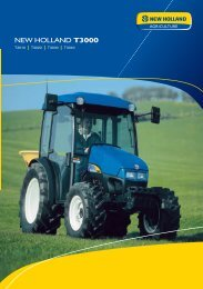 NEW HOLLAND T3000 - Agrartechnik Altenberge GmbH