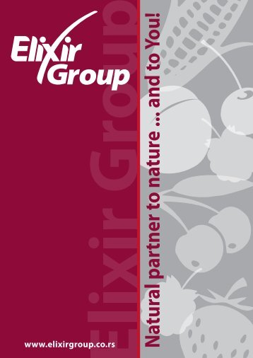 Elixir Group - Elixir food