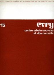 Evry : centre urbain nouveau et ville nouvelle - Centre de ...