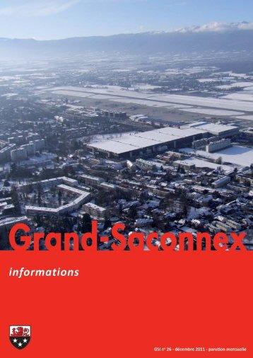 n° 26 - Grand-Saconnex informations décembre 2011
