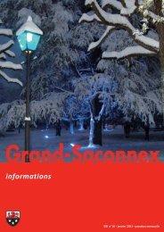 n° 16 - Grand-Saconnex informations janvier 2011