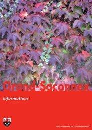 n° 25 - Grand-Saconnex informations novembre 2011