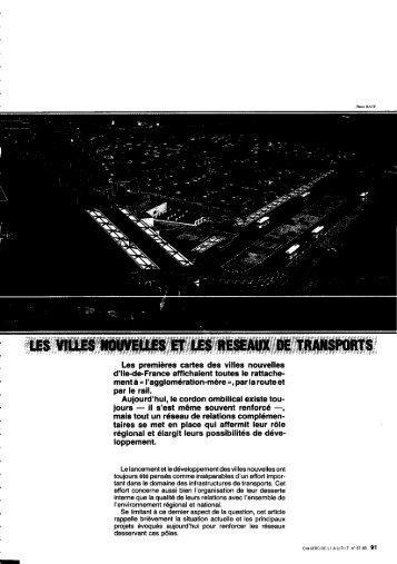 Villes nouvelles d'Ile-de-France. = New town of Ile-de-France all ...