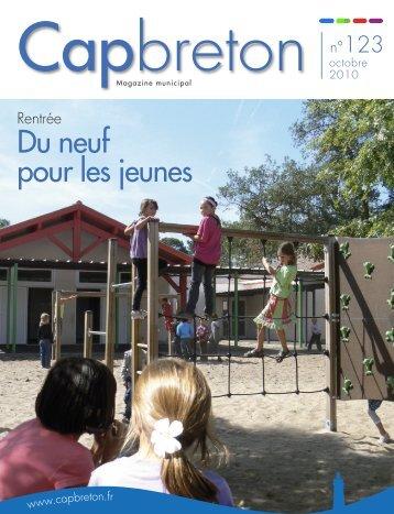 Bulletin N°123 (octobre 2010) - Ville de Capbreton