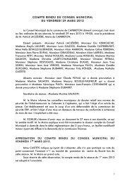 29/03/2013 : Télécharger le compte rendu - Ville de Capbreton