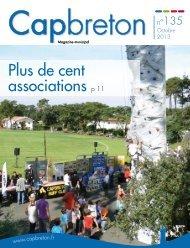 Télécharger le Bulletin municipal d'octobre 2013. - Ville de Capbreton