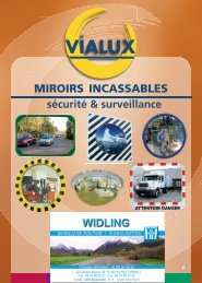 MIROIRS INCASSABLES - widling