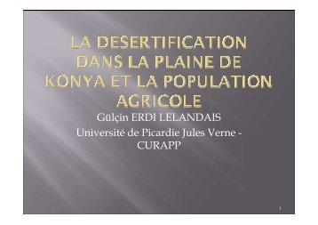 Gülçin ERDI LELANDAIS Université de Picardie Jules Verne ...