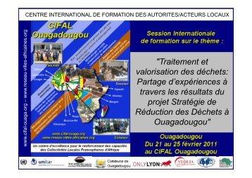 Le procédé CALCIOR - CIFAL Ouagadougou