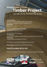 Timber Project - École d'architecture de la ville & des territoires à ...