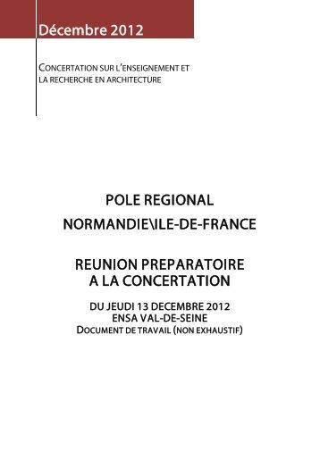 tableau de synthese - École d'architecture de la ville & des territoires ...