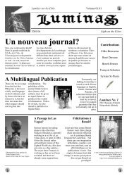 Un nouveau journal? - Obscure cities archives