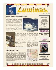 Luminas - Obscure cities archives