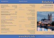 Einladung www.MGFG.info 3. Jahrestagung - Natum