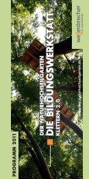 Die BildungswerkstatT Klettern 2.0 - Naturhochseilgarten