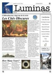 Les Cités Obscures - Obscure cities archives