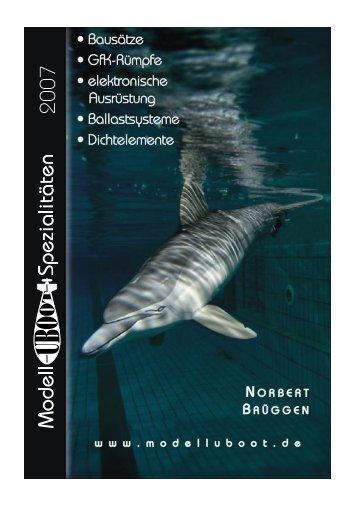 Katalog '7 - Modell-Uboot-Spezialitäten