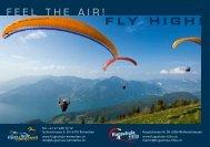 Broschüre 2014 - Flugschule - Emmetten