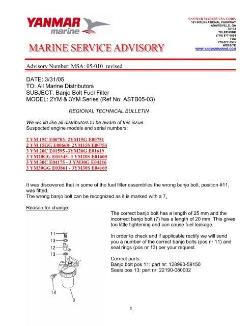 MSA05-010 YM series.pdf - Mastry Engine Center on
