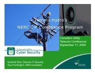 Security - Utilities Telecom Council