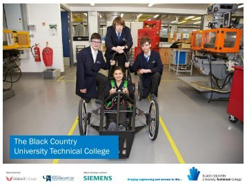 Engineering - Black Country University Technical College