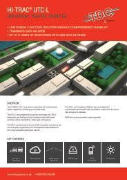 Download Product Datasheet - TDC Systems