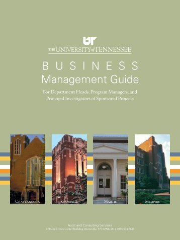 B usiness Management Guide - Audit and Consulting Services - The ...