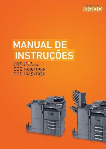 InstruÇÕes Manual de - Utax