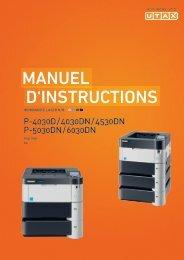 mANuel D'INstructIoNs - Utax