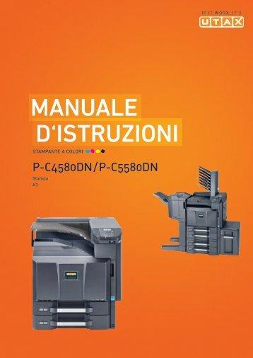 mANuAle D'IstruzIoNI - Utax