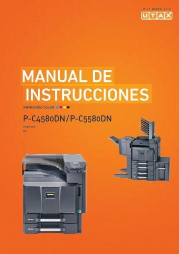 mANuAl De INstruccIoNes - Utax
