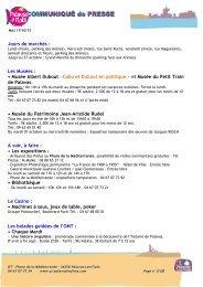 Agenda des activités de Palavas les Flots 2013 - Avignon et Provence