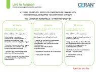 Présentation PowerPoint - Avignon et Provence