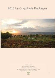 2013 La Coquillade Packages - Avignon et Provence