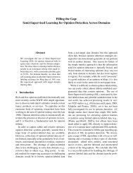 Semi-Supervised Learning With SVMs pdf - Read