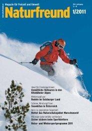 Magazin für Freizeit und Umwelt Gemütliche ... - Naturfreunde