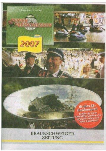 2007 - Neues Bürger-Corps von 1927 e.V.