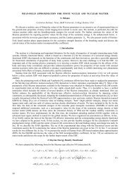 50 MEAN-FIELD APPROXIMATION FOR FINITE NUCLEI AND ...