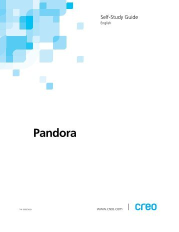 Pandora Self-Study Guide - Kodak