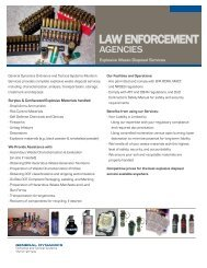 law enforcement - General Dynamics Ordnance and Tactical Systems