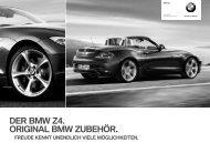 DER BMW Z4. ORIGINAL BMW ZUBEHÖR.